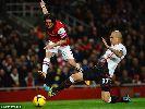 Cazorla và Ramsey thay nhau xé lưới Liverpool