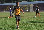 Chùm ảnh: Chùm ảnh U23 Việt Nam miệt mài luyện quân tại Myanmar