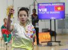 Chùm ảnh: VĐV wushu xinh đẹp trên sàn đấu SEA Games 27
