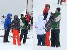 Chùm ảnh: Các sao Serie A đưa gia đình đi trượt tuyết