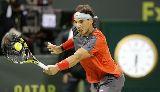Chùm ảnh: Chùm ảnh: Rafael Nadal rạng ngời nâng cúp Qatar Open