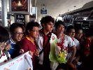 U19 AS Roma đã có mặt tại TP.HCM