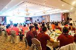 U19 AS Roma thích thú với nhạc dân tộc Việt Nam