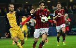 Chùm ảnh: AC Milan nhận đòn đau từ Atletico vào phút cuối