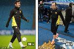 Căng thẳng bao trùm sao Barca trong buổi tập trên Etihad