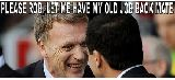 Fan Man United chế ảnh mỉa mai David Moyes