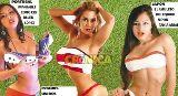 """Chùm ảnh: Bộ lịch """"siêu"""" sexy hâm nóng World Cup 2014"""