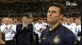 Chùm ảnh: Ngày chia tay đẫm nước mắt của đội trưởng Zanetti