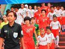 Chùm ảnh: ĐT nữ Việt Nam mở toang cánh cửa dự play-off World Cup