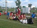 Chùm ảnh: U19 Việt Nam choáng ngợp bởi hệ thống sân cỏ ở Nhật