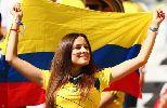 Chùm ảnh: Cuồng nhiệt, nóng bỏng như các fan nữ Colombia