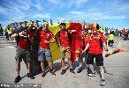 Chùm ảnh: Chùm ảnh: Fellaini ghi bàn, tuyển Bỉ lội ngược dòng trước Algeria