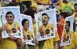 Chùm ảnh: Xem lại trận Brazil 3-2 Chile (penalty) qua ảnh: Người hùng Julio Cesar