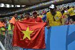 Chùm ảnh: Những lần cờ Việt Nam xuất hiện trên khán đài VCK World Cup 2014