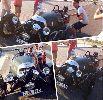 Chùm ảnh: Sao Real Madrid cưỡi siêu xe cổ đến sân tập
