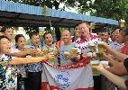 HLV ngoại của Hải Phòng ngấn lệ khi chia tay V.League