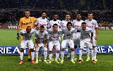Chùm ảnh: Vidic bị phạt penalty, nhận thẻ đỏ ngày ra mắt Serie A