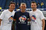 Chùm ảnh: Các huyền thoại Serie A tụ về Rome gây quỹ từ thiện