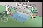 Chùm ảnh: Ảnh chế: Messi té đau vì không nghe chỉ dẫn của Neymar