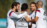 Chùm ảnh: Xử đẹp Barca, Real Madrid tập luyện cho Cúp nhà Vua