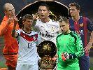 5 ứng viên cho danh hiệu Quả bóng vàng FIFA 2014