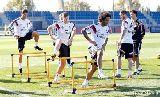 Chùm ảnh: Cận cảnh buổi tập của dàn sao Real Madrid