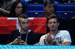 Chùm ảnh: Sao Arsenal trầm ngâm chứng kiến Djokovic thắng dễ Wawrinka