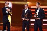 Chùm ảnh: Klose, Philipp Lahm thêm 1 lần được vinh danh