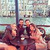 Chùm ảnh: Vợ chồng Alonso và Arbeloa rủ nhau du hý Venice