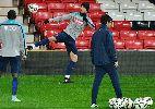 Chùm ảnh: Ronaldo và Nani hào hứng trở lại tập luyện tại Old Trafford