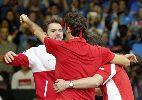 Lần đầu vô địch, Thụy Sĩ quậy tưng bừng trên sân Pháp