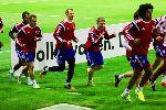Các cầu thủ Bayern tại trại huấn luyện Doha