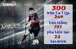 Ảnh chế: Messi lập kỷ lục, Ronaldo 4 năm mới tịt ngòi