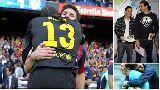 Chùm ảnh: Messi, Ronaldo & những người bạn tâm giao