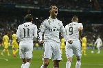 Chùm ảnh: Ronaldo ghi bàn, Real vẫn bị Villarreal cầm hòa tại Bernabeu