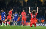 Những hình ảnh ấn tượng ở đại chiến Chelsea - PSG