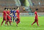 Cầu thủ Việt Nam tiếc nuối vì bàn thua phút cuối