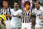 Những cầu thủ từng khoác áo cả Juventus và Real Madrid