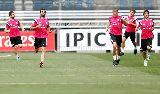 Chùm ảnh: Quên sầu Juve, Real Madrid sung sức cho trận đấu với Espanyol