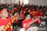 Chùm ảnh: Người hâm mộ TP.HCM thỏa mãn với chiến thắng của U23 Việt Nam