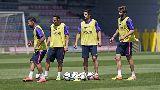 Suarez tập sút liên hoàn, Barca sẵn sàng cho Cúp nhà Vua