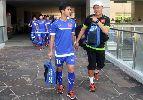 Chùm ảnh: U.23 Việt Nam tập kín trước trận then chốt với U.23 Malaysia