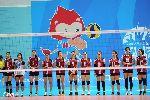 Các cô gái bóng chuyền xinh đẹp vào chung kết SEA Games 28