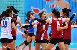 Chùm ảnh: Bóng chuyền nữ Việt Nam thua trắng 0-3, nhận HCB SEA Games