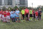 Chùm ảnh: Học viện Arsenal Việt Nam giao hữu với đội trẻ Hồng Kông