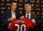 Chùm ảnh: Những khoảnh khắc đáng nhớ của Van Persie tại Man Utd