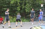 Chùm ảnh: Mou bắt Begovic, Courtois 'luyện công' ở bãi đỗ xe