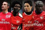 Chùm ảnh: Đoạn kết bi kịch của những ngôi sao đã rời bỏ Arsenal
