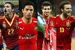Chùm ảnh: Những tiền vệ không gặp thời trong màu áo La Roja