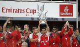 Chùm ảnh: Arsenal lần thứ tư vô địch Emirates Cup